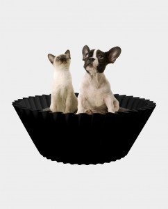 Sweet cake Black pet bed 2