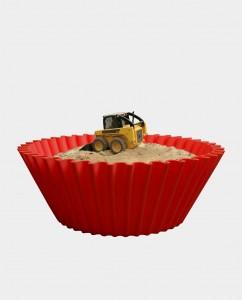 Sweet cake Red sandbox 2
