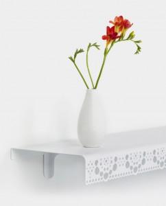 granny wallshellf white