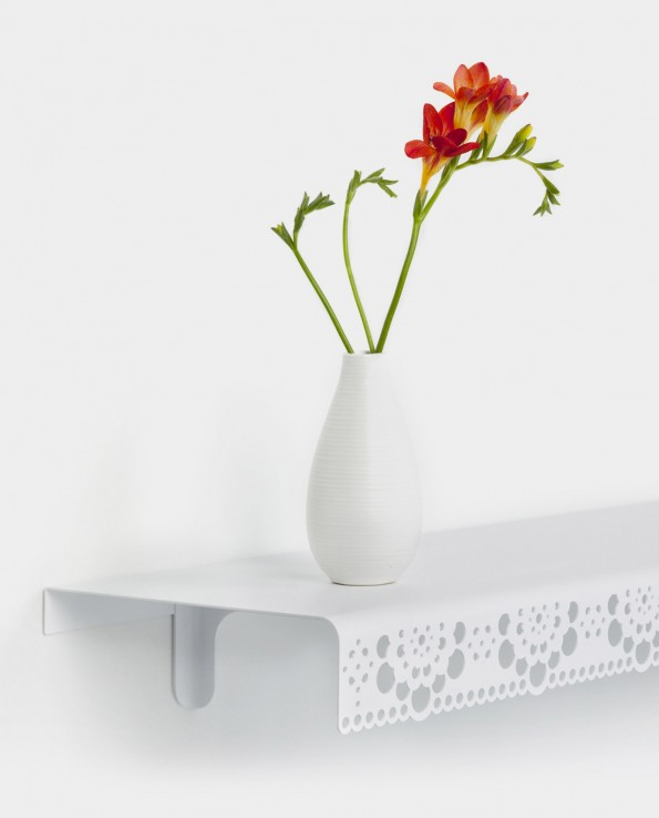 Granny wall shelf white