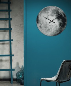 Karlsson mirror moon clock