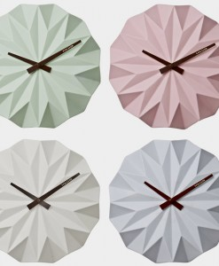 Karlsson porcelain wall clock