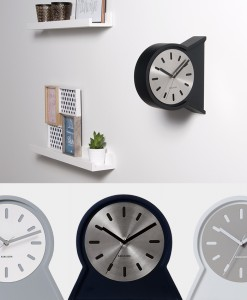 Karlsson table and wall clock