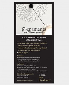 ornaments Classic geomteric - wall and ceiling decoration 2