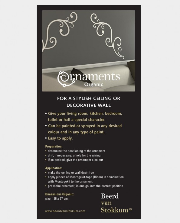 ornaments Organic - wall and ceiling decoration 2