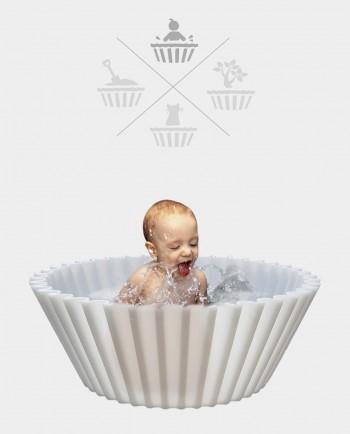 Sweet cake Transparant babybad